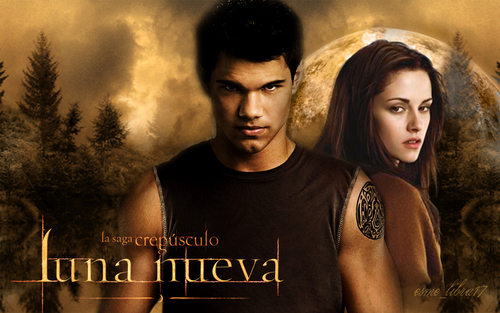 luna Nueva - Wallpaper made by me -  jacob and bella