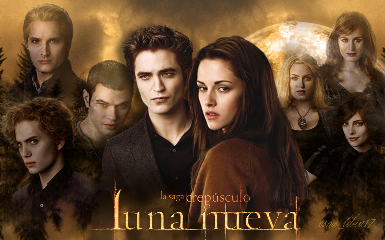 luna Nueva - Wallpaper made by me - the cullens - twilight-series wallpaper