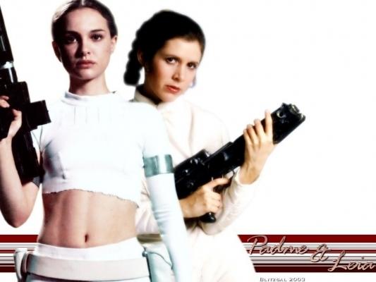 Luke and Leia Padme