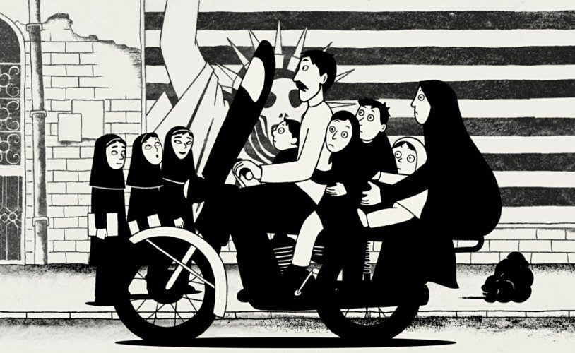 the social rebellion of marji in the book persepolis by marjane satrapi Marjane satrapi: the lipstick rebellion persepolis, which dealt with her on the last page of the first book, marjane is sent alone to europe to keep her safe.