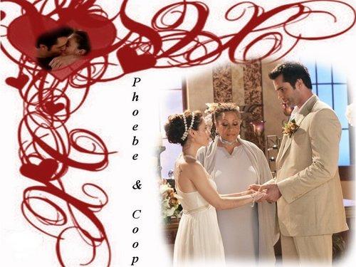 pheobe and coop wedding