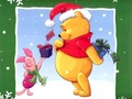 pooh christmas - classic-disney wallpaper