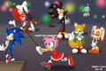 sonic christmas party - sonic-christmas photo