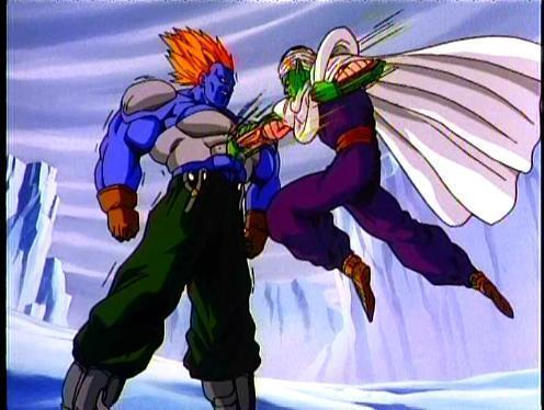 super 13 vs piccolo - Dragon Ball Z 496x374