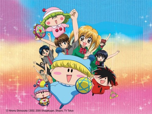 Mirmo wallpaper containing anime entitled the group