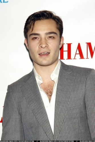 "Ed at Opening Night of 'Hamlet"""