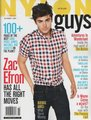 November issue of Nylon Guys magazine at ZacE