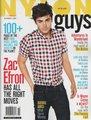 November issue of Nylon Guys magazine at ZacE