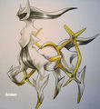 Arceus - legendary-pokemon fan art