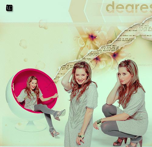 Ashley Tisdale Hintergrund titled Ashley