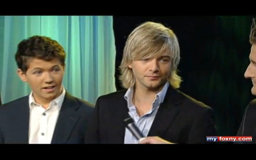 Celtic Thunder on zorro, fox 5 NY 10-07-09