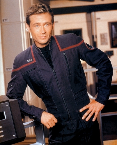 "étoile, étoile, star Trek - Enterprise fond d'écran containing a well dressed person and a business suit entitled Charles ""Trip"" Tucker III"