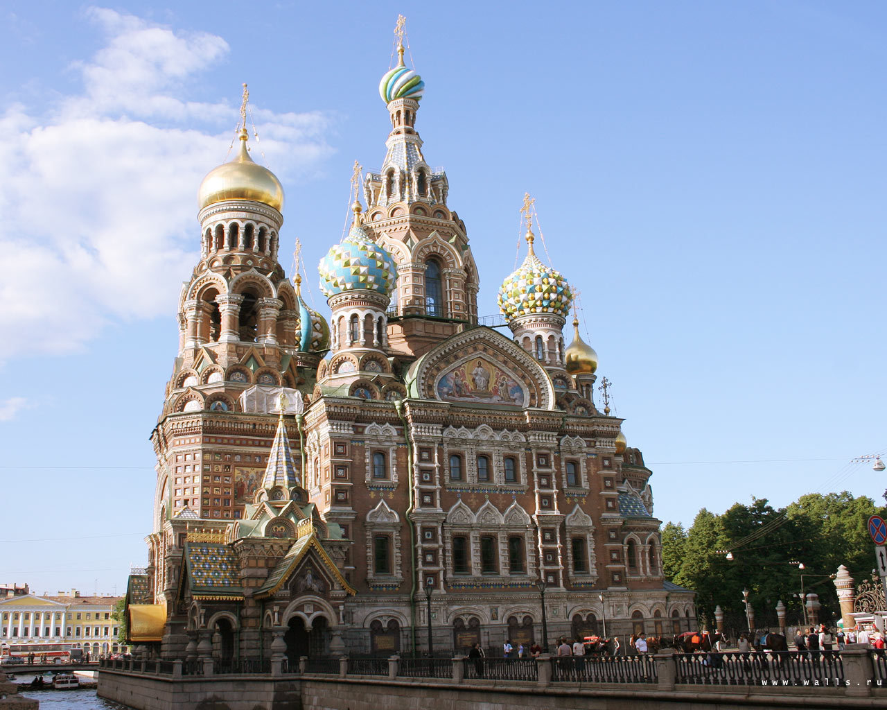 Church Of The Savior On Blood Russia Wallpaper 8535644