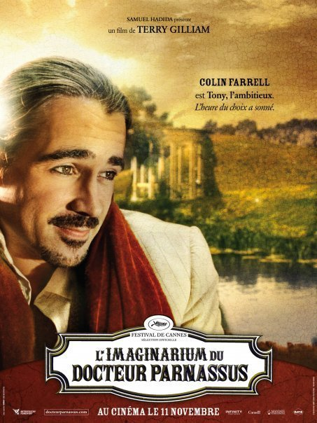 Colin Farrell - French Poster - The Imaginarium of Doctor Parnassus