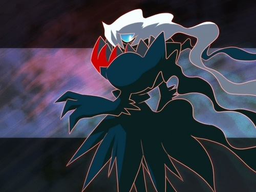maalamat pokemon wolpeyper called Darkrai