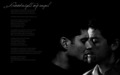 Dean + Castiel - dean-and-castiel wallpaper
