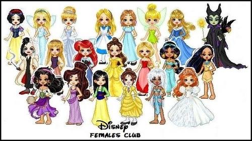 ディズニー Females Club