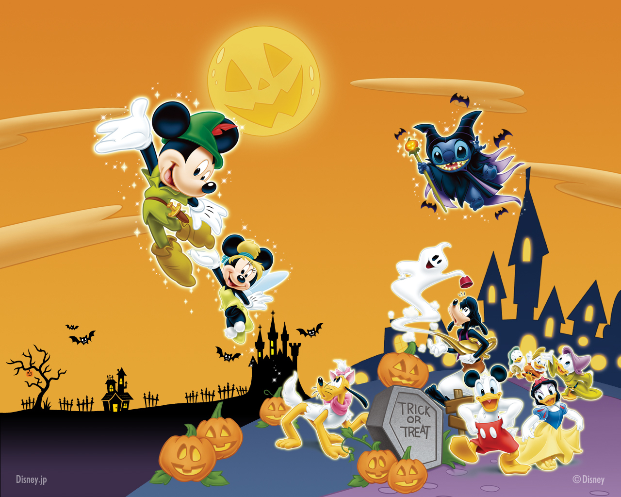 Stunning Disney Halloween Desktop 1280 x 1024 · 762 kB · jpeg
