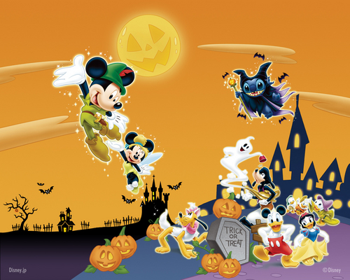 Disney wallpaper titled Disney Halloween Wallpaper