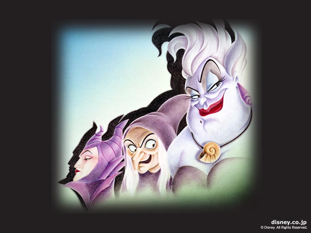 Disney Villains Wallpaper