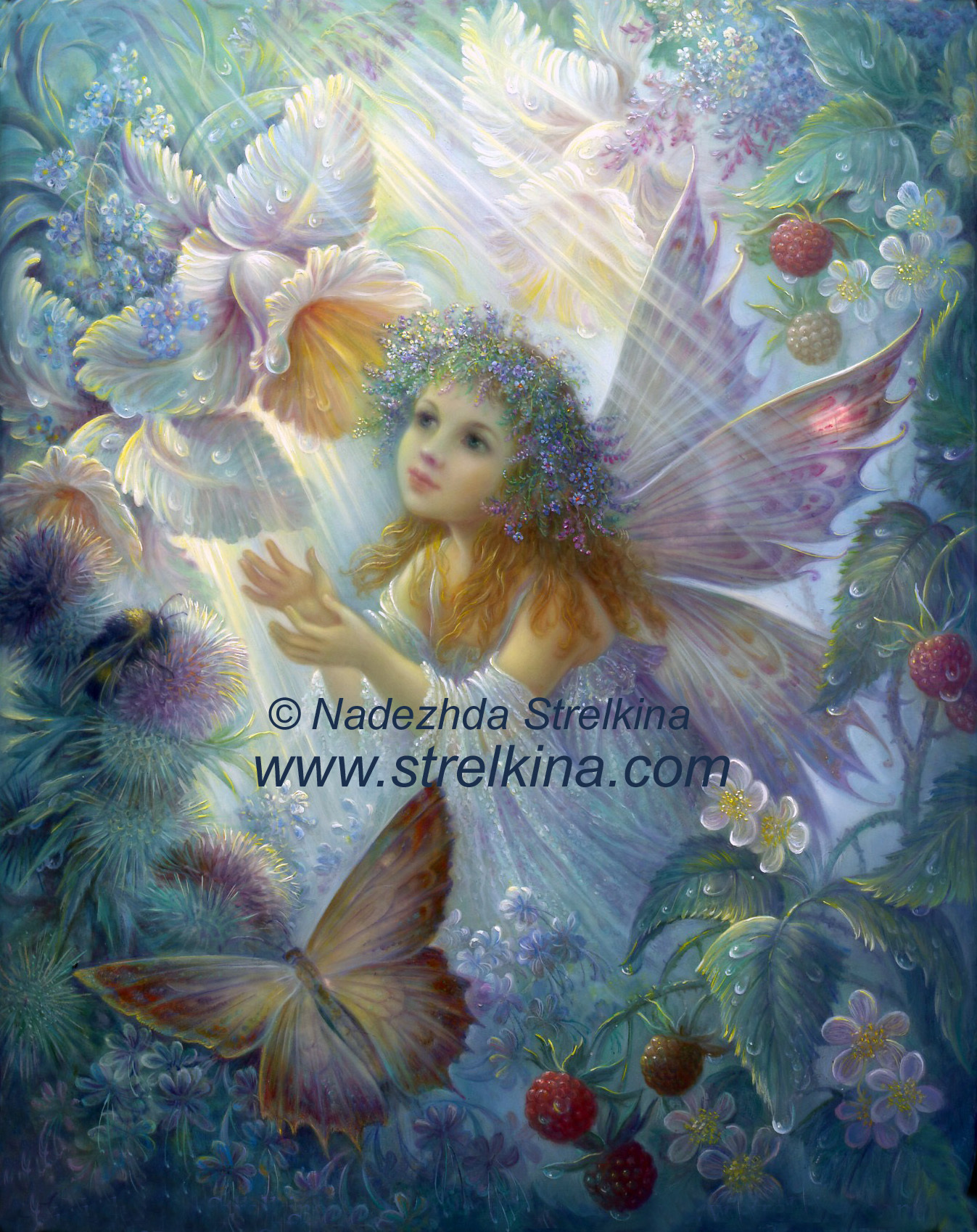 FLOWER FAIRY Fantasy Art Fanpop