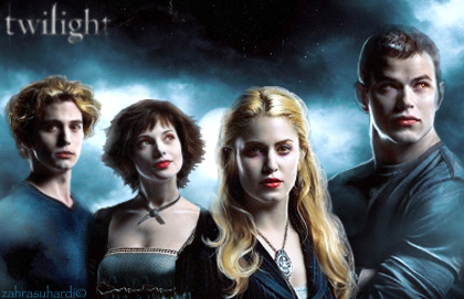 The Cullens wallpaper with a portrait entitled Famille Cullen