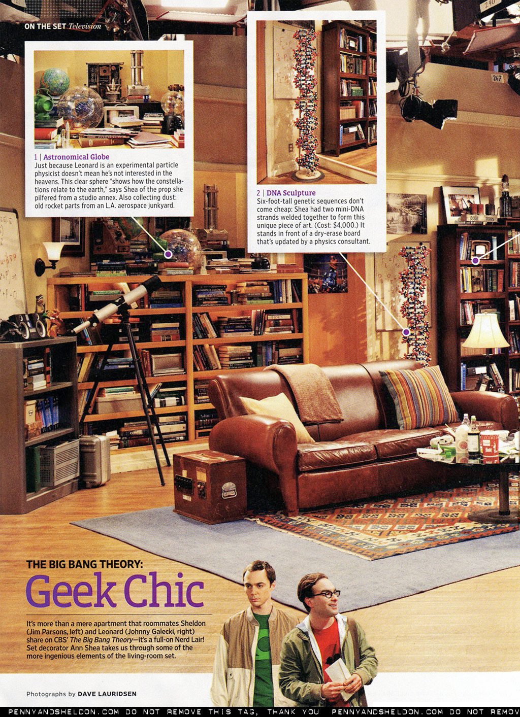 Geek Chic: EW magazine scans