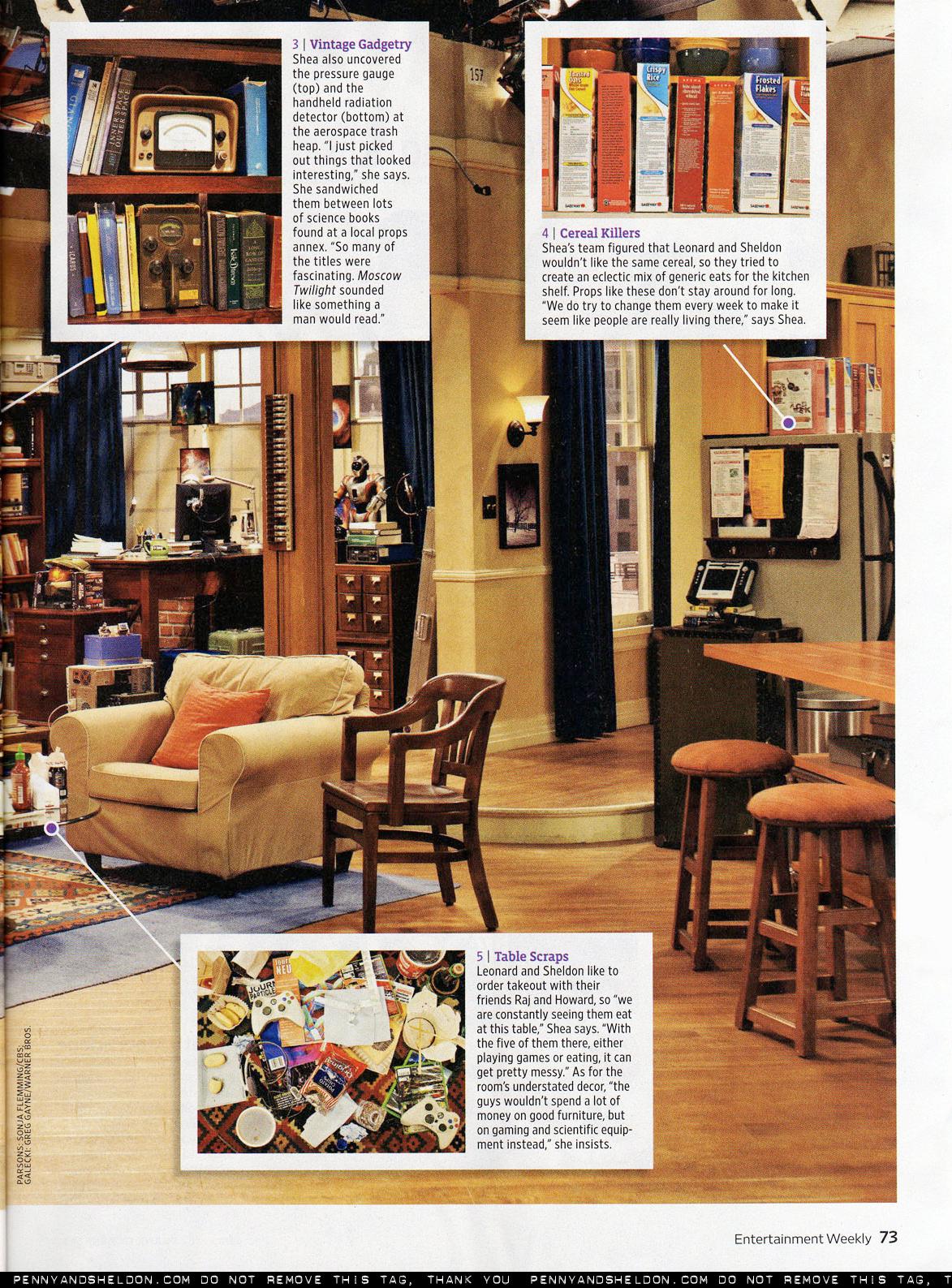 Geek Chic Ew Magazine Scans Big Bang Theory Foto 8521340 Fanpop