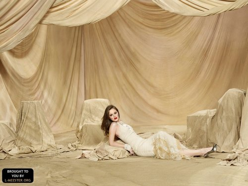 Gossip girl photoshoot - Leighton