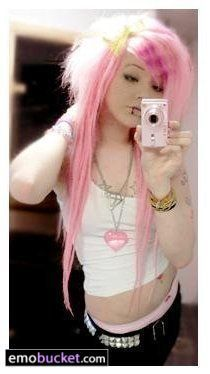 emo girls wallpaper probably with a portrait titled Hannie Dropdick