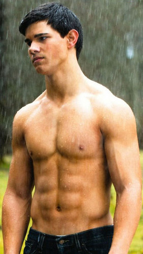 Jake hot in the rain