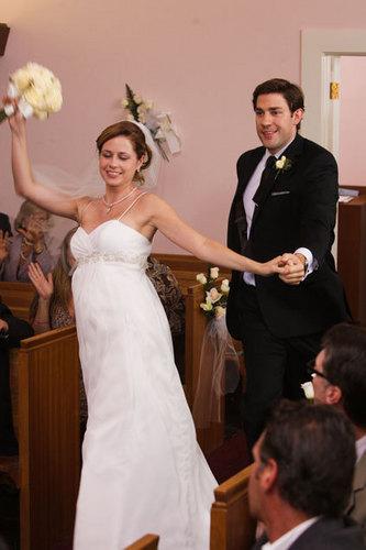 Jim and Pam Wedding foto