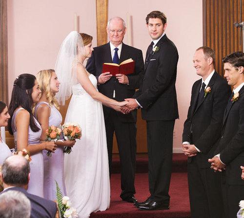 Jim and Pam Wedding Photos