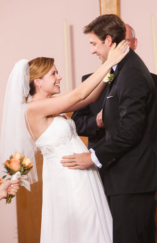 Jim and Pam Wedding 사진
