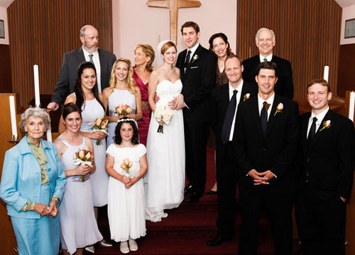 Jim and Pam Wedding Photos