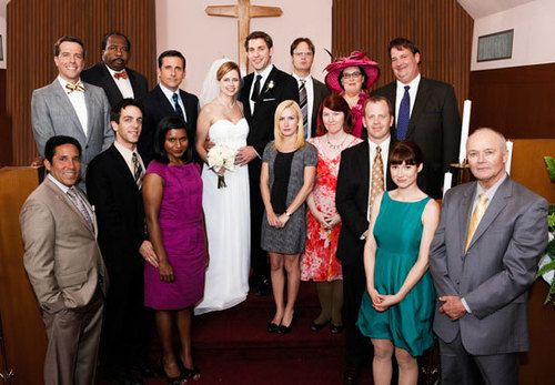 Jim and Pam Wedding Photos - the-office Photo
