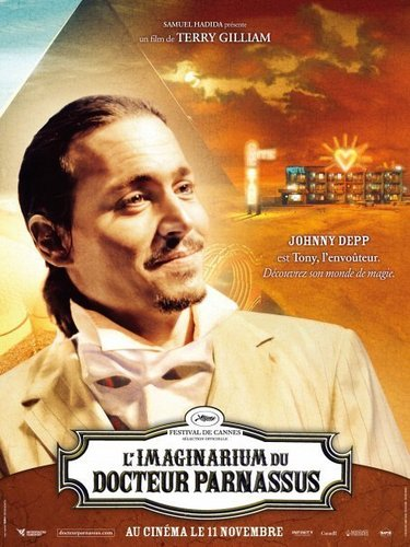 Johnny Depp - French Poster _The Imaginarium of Doctor Parnassus