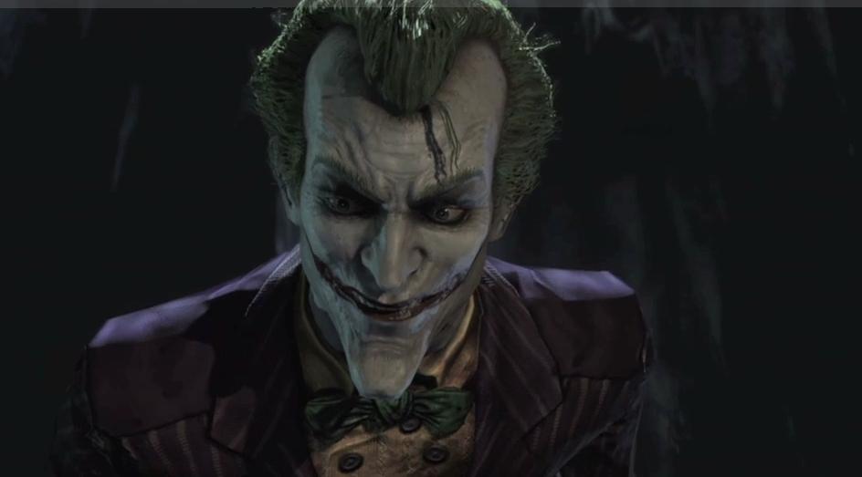 Savez-vous ce que fait un clown quand il s'ennuie ...? Bang bang. Joker-batman-arkham-asylum-8528889-944-523