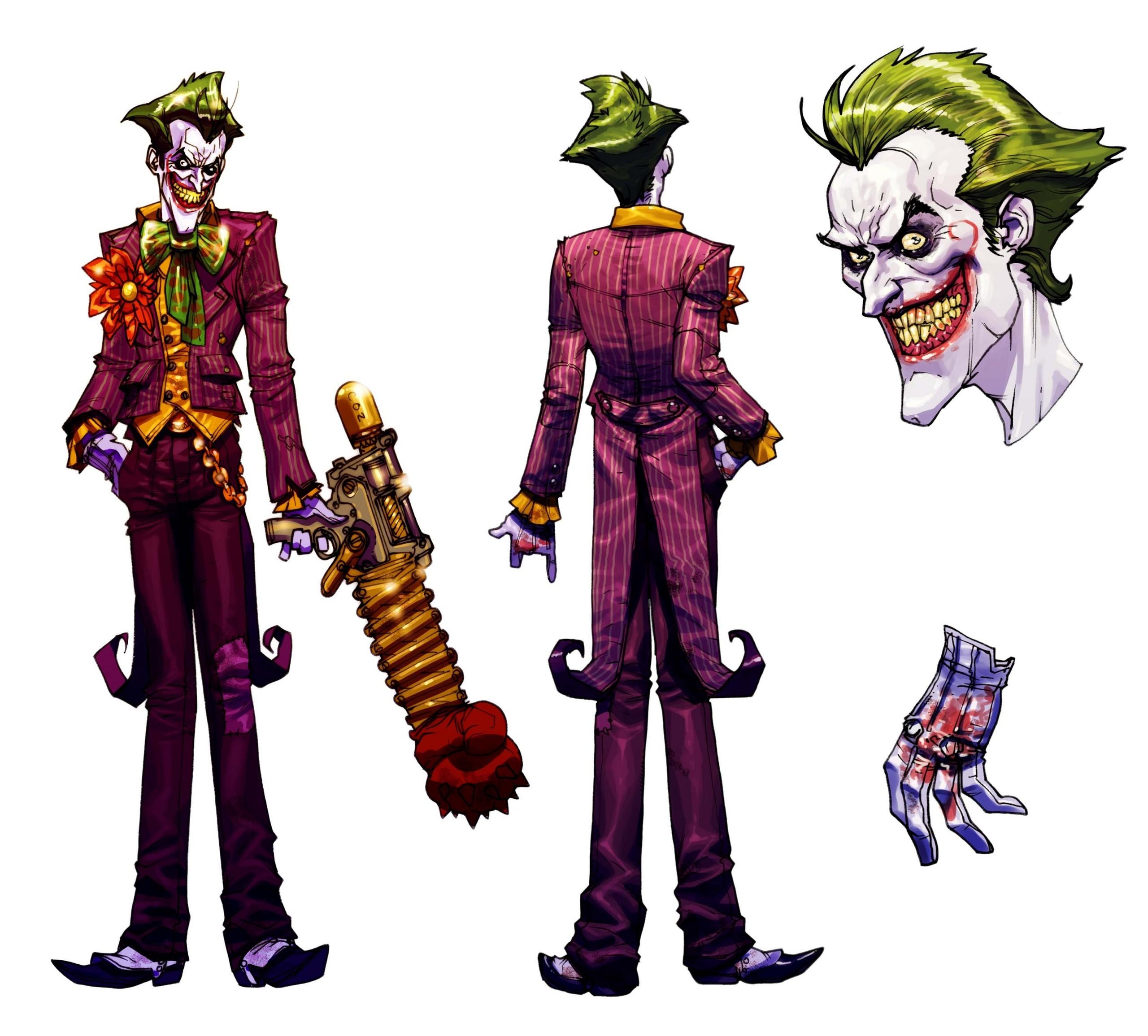 Batman Arkham Asylum Images Joker HD Fond Dcran And