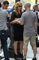 Julia Roberts filming in Tribeca (NYC)