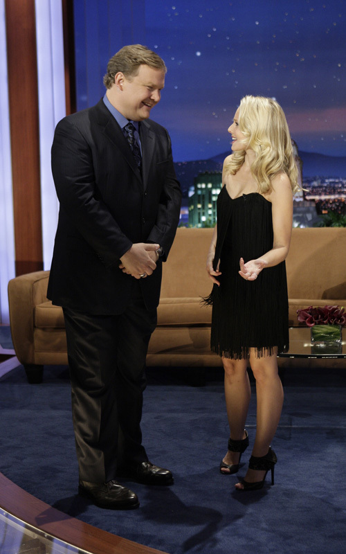 "Kristen on ""The Tonight toon with Conan O'Brien"""