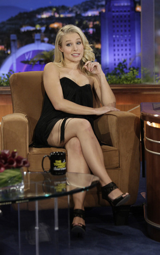 "Kristen on ""The Tonight mostrar with Conan O'Brien"""