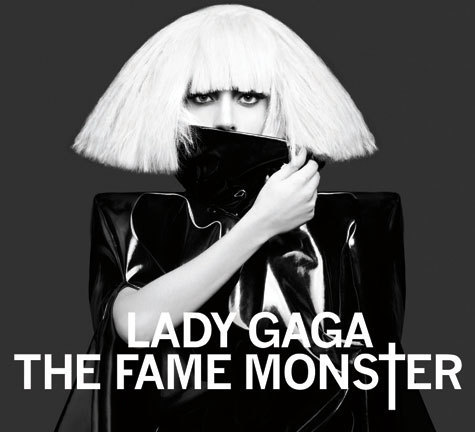 Lady GaGa The Fame Monster Album Re-Release Promo Cover
