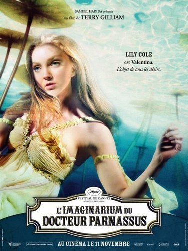 Lily Cole - French Poster - The Imaginarium of Doctor Parnassus