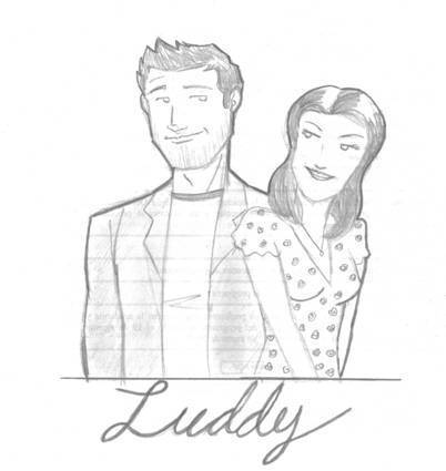 Luddy wallpaper probably with anime called Luddy sketch