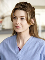 Meredith Grey karatasi la kupamba ukuta containing a portrait called Meredith Grey
