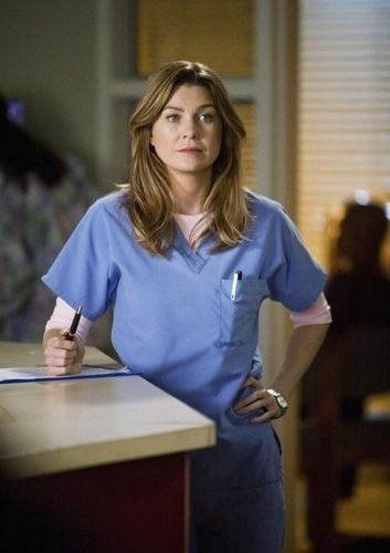 Meredith Grey Hintergrund probably with a leisure wear titled Meredith Grey