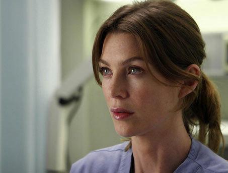 Meredith Grey karatasi la kupamba ukuta containing a portrait called Meredith Grey