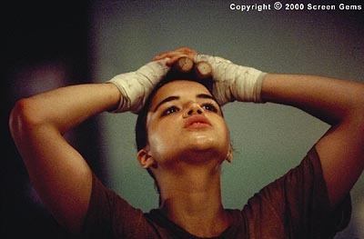Michelle Rodriguez hình nền possibly containing a portrait entitled Michelle in Girl Fight