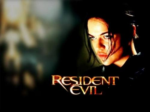 Michelle Rodriguez fond d'écran possibly with a portrait entitled Michelle in Resident Evil